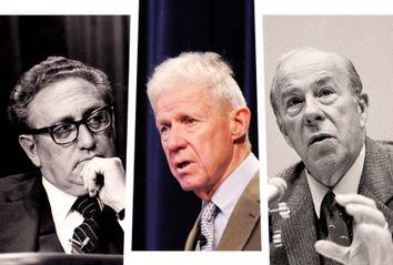 Henry Kissinger; Charles Hill; George Schultz