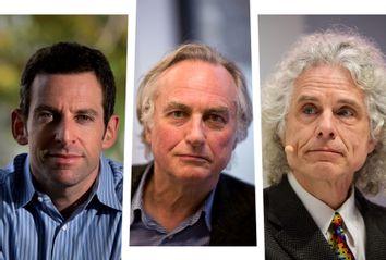 Sam Harris; Richard Dawkins; Steven Pinker