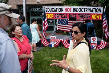 Critical Race Theory; CRT; Protest