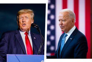 Donad Trump; Joe Biden
