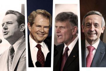 Jerry Falwell Sr; Pat Robertson; Franklin Graham; Robert Jeffress
