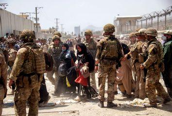 Evacuating Kabul, Afghanistan