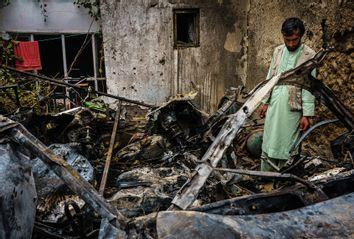 Drone Strike; Afghanistan
