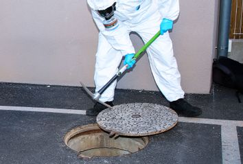 Sewage; COVID-19; Health; Inspection