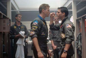 Val Kilmer; Tom Cruise; Top Gun