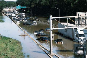 Hurricane Ida; New York; Flooded Major Deegan Expressway