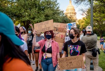Texas; Pro-Choice Protest; Women's Rights; Reproductive Rights