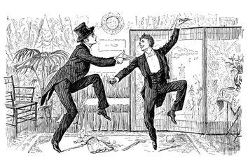 dancing a jig