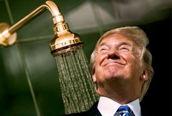 Donald Trump; golden shower
