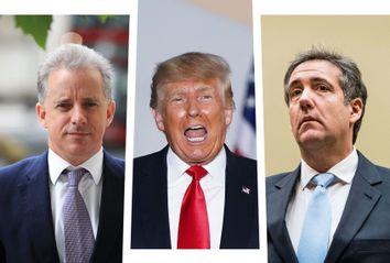 Christopher Steele; Donald Trump; Michael Cohen