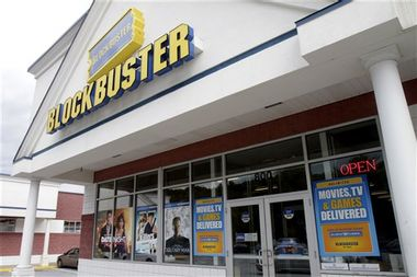 Blockbuster Bankruptcy