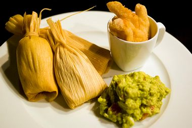 Image for Chile pork tamales, even if you don't have a Mexican grandma