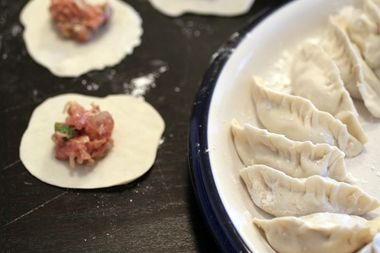 Image for How to make potsticker dumplings, Mama Yang style