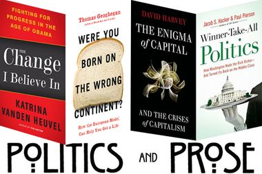 Image for Book recommendations from the heart of Washington