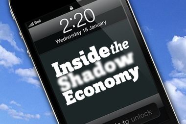 Image for Finding apps for the shadow economy