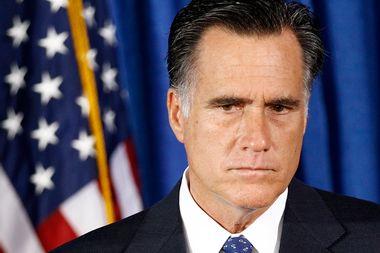Image for Mitt Romney will never be president