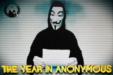 Image for Celebrating Anonymous: The hackers' big year