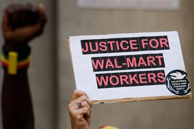 Image for Anonymous Wal-Mart workers unload and urge protests on new website
