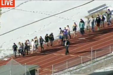 Image for Arapahoe High School shooting: Multiple injuries reported in Colorado