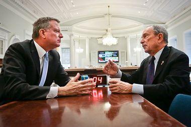 Image for De Blasio's impossible task: Fix Bloomberg's New York