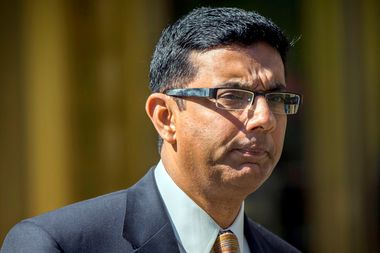 Image for The right's favorite criminal: Inside the hopeless obsession with Dinesh D'Souza