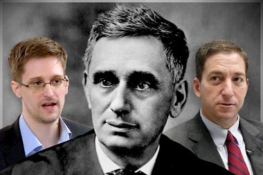 Image for The empire strikes back: How Brandeis foreshadowed Snowden and Greenwald