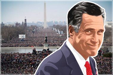 Image for Mittmentum! Romney tells donors he's considering a run