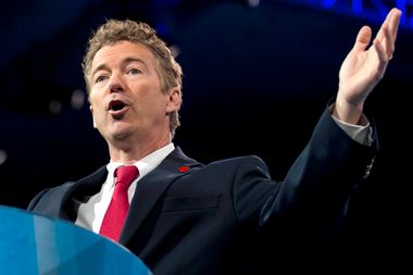 Image for Rand Paul pens foreword for book by Confederate apologist and 9/11 conspiracy theorist