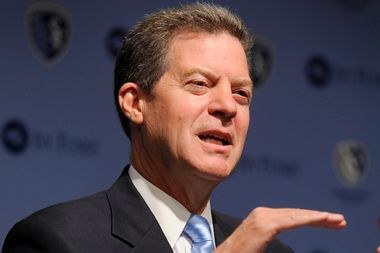 """Image for """"Overwhelming bombardment"""": How a suddenly competitive Senate race helped Sam Brownback hang on in Kansas"""