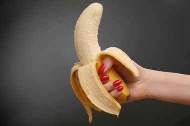 Image for No one eats a banana like that: The strange world of safe-for-work porn