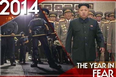 Image for The Year in Fear: From Ebola to street violence to Comrade Kim