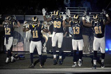 ADDITION Raiders Rams Football