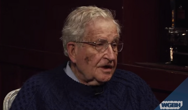 Image for Noam Chomsky: The problem with US politics is the spectrum is