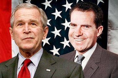 George W. Bush, Richard Nixon