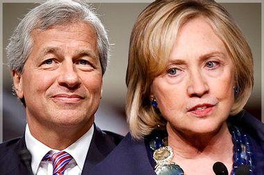 Jamie Dimon, Hillary Clinton