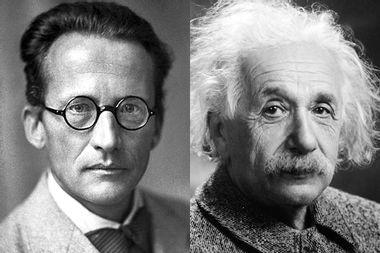 Erwin Schrödinger, Albert Einstein