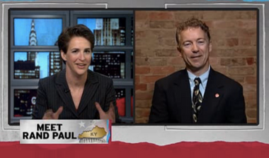 Image for Viral rewind: Rand Paul said he opposed the Civil Rights Act of 1964 — and Rachel Maddow eviscerated him