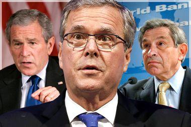 George W. Bush, Jeb Bush, Paul Wolfowitz