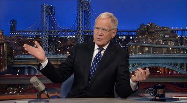 Image for 10 tearjerker moments from David Letterman's big finale