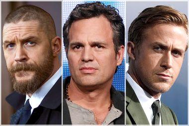 Tom Hardy, Mark Ruffalo, Ryan Gosling
