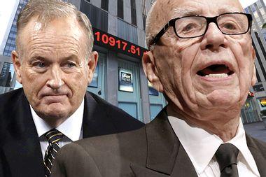 Bill O'Reilly, Rupert Murdoch