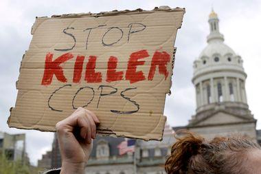Stop Killer Cops SIgn