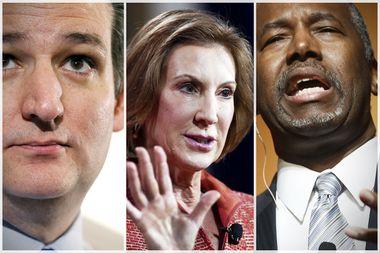 Ted Cruz, Carly Fiorina, Ben Carson