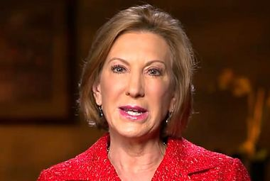 Image for Slipping away in the polls, Carly Fiorina rehashes her tired attacks on feminism: