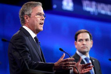Jeb Bush, Marco Rubio