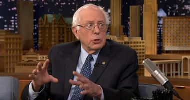 Bernie Sanders Jimmy Fallon