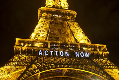 France Climate Countdown Carbon Footprint