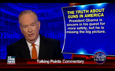 Image for Bill O'Reilly's bizarro gun-control argument: Did the Fox News host just stake out a reasonable position?