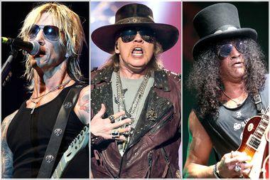 Duff McKagan, Axl Rose, Slash