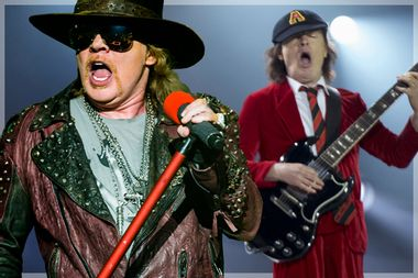 Axl Rose; Angus young